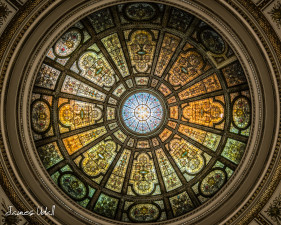 Chicago Cultural Center Dome Ceiling