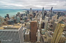 City of Chicago from Above