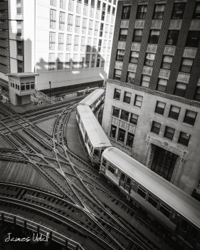 L Train in Chicago