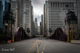 La Salle Street in Chicago