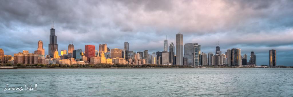 Morning Light on the Chicago Skyline