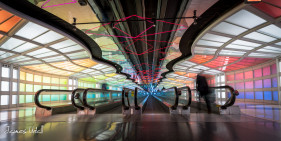 Sky's The Limit Tunnel at O'hare Airport