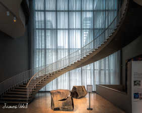 Staircase at the Art Institute of Chicago