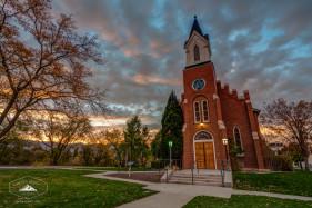 White Memorial Chapel in Salt Lake City.