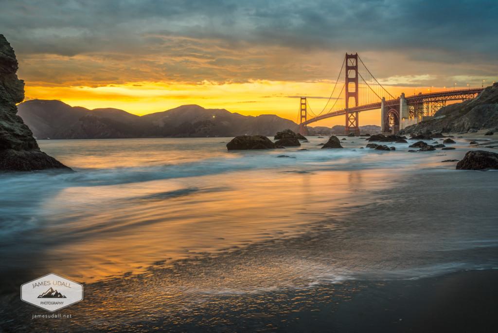 Golden Gate Bridge after Sunset