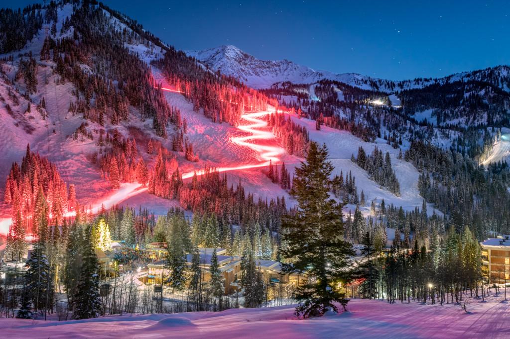 Snowbird Torchlight Parade