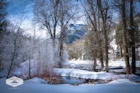 Winter in American Fork Canyon