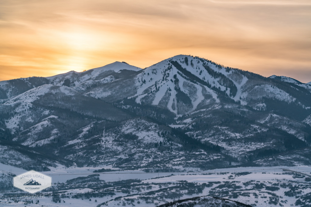 Deer Valley at Sunset