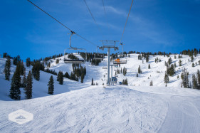 Riding the Chairlift at Solitude