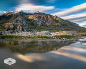 Mountain Reflection at the Great Salt Lake