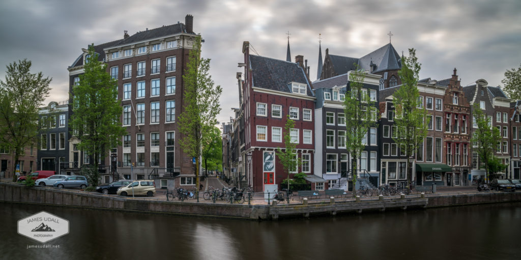 Amsterdam Buildings along Canal