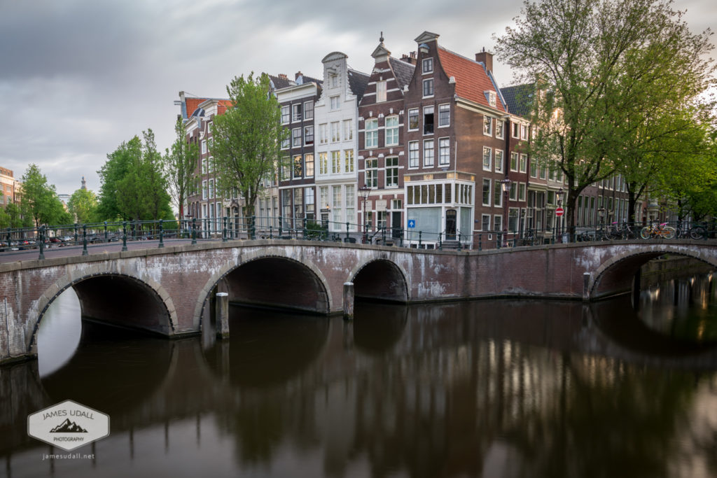 Canals and Buildings in Amsterdam