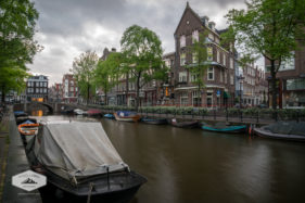Cloudy Morning in Amsterdam