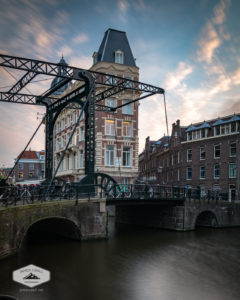 Old Bridge in Amsterdam