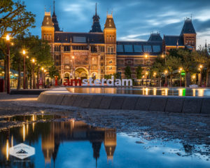 The Rijksmuseum at Night