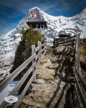 Below Eiger