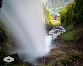 Brink of Geisbach Falls