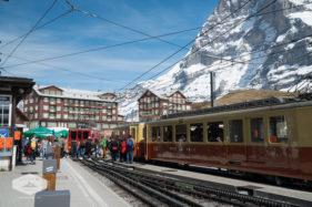 Jungfraubahn Train