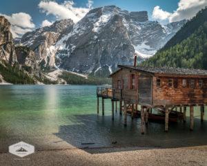 Boat House at Lago di Braies
