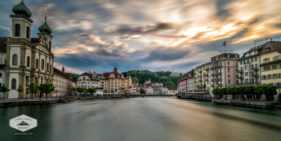 Sunset in Lucerne
