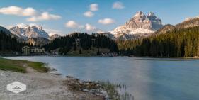 Lake Misurina and the Dolomites