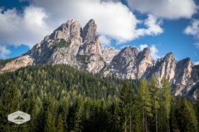 Mountain Peaks in Prags Valley