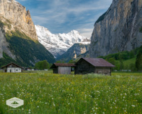 Shed in Lauterbrunnen Valley