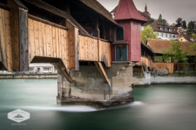 Spreuer Bridge in Lucerne
