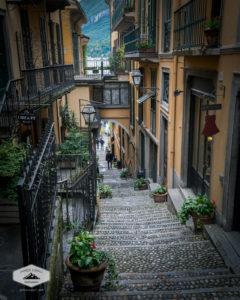Stepping Through Bellagio