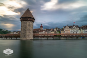 Stormy Sky in Lucerne