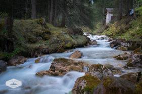 Stream in Val di Funes