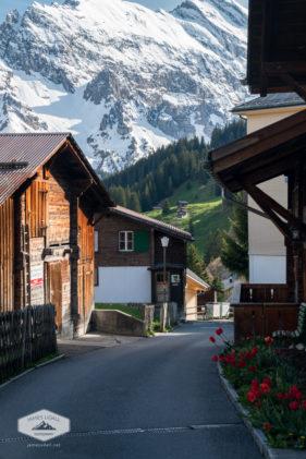 Street in Murren