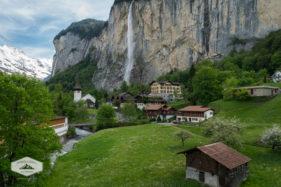 Lauterbrunnen and Staubbach Falls