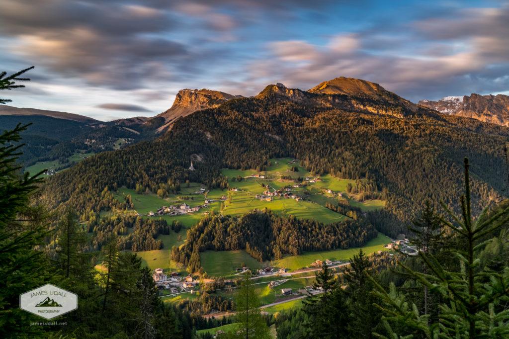 Sunset in Val Gardena