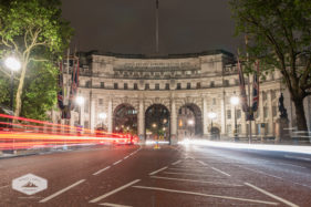Admiralty Arch at Night