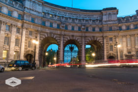 Traffic Through Admiralty Arch