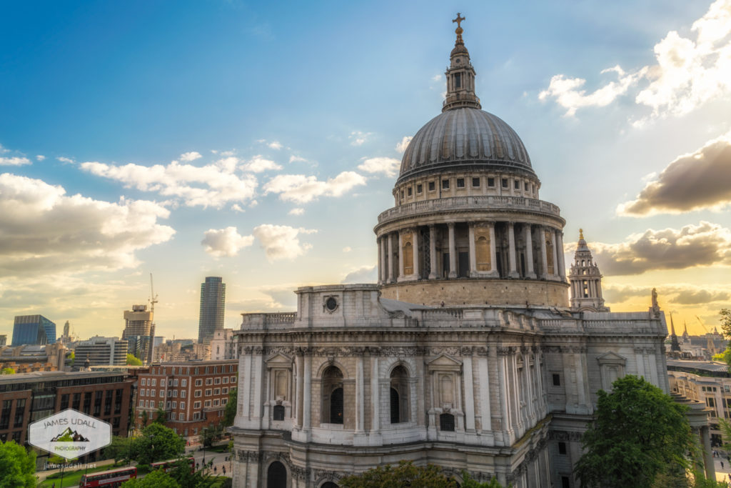 Evening at St. Paul's Cathedral