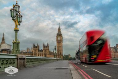 Morning Bus in London