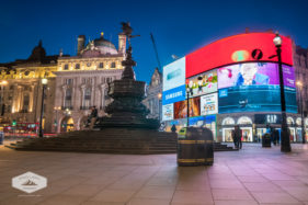 Picadilly Circus Fountain