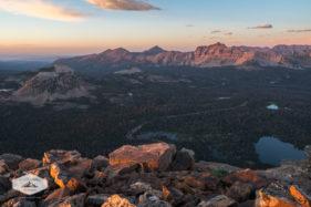 Hayden Peak at Sunset