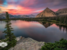Sunset at Notch Lake