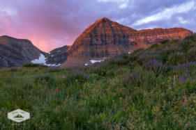 Sunrise at Mount Timpanogos