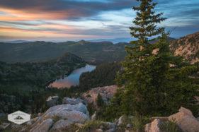 Sunrise at Twin Lakes