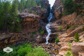 Waterfall in the Uintas