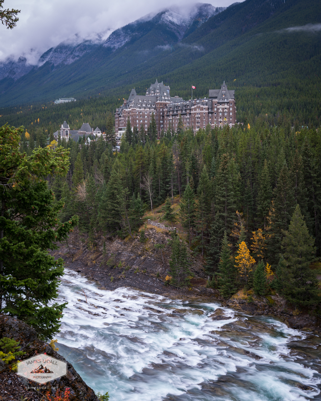 Fairmont Hotel in Banff