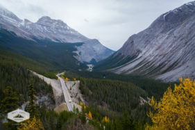Icefields Parkway in the Fall