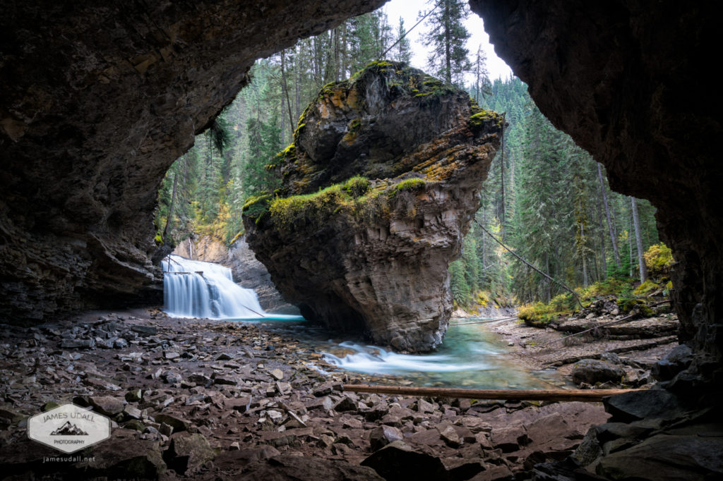 Rock in Johnston Canyon