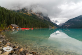 Lake Louise Boathouse