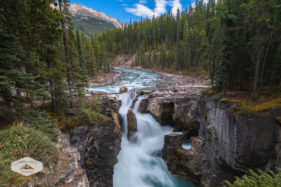 Sunwapta River and Falls