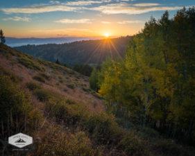 Sunrise in Early Autumn